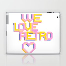 We Love Retro Laptop & iPad Skin