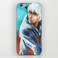 jack frost iPhone & iPod Skins featuring Jack Frost by Maine