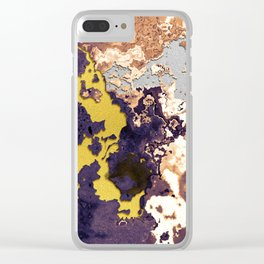 Mixture of minerals Clear iPhone Case