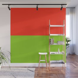 Red Grapefruit & Lime Wall Mural