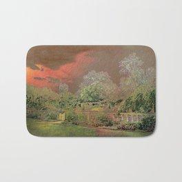 English Garden Sunset Bath Mat