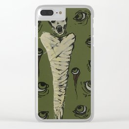 Anxiety II Clear iPhone Case
