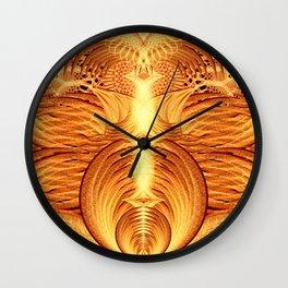 Pheonix Fire Temple Wall Clock