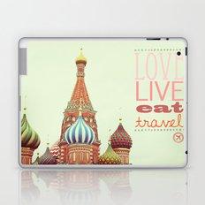 Love, Live, Eat, Travel Laptop & iPad Skin