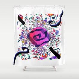 Wind 13 Shower Curtain