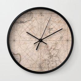 The North Sea 1768 Wall Clock