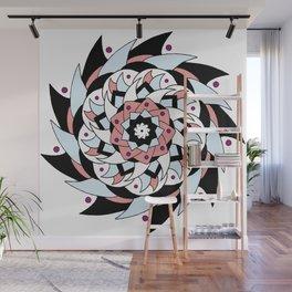 Pinwheel Wall Mural