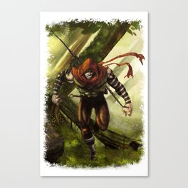 Berenn the Archer Canvas Print