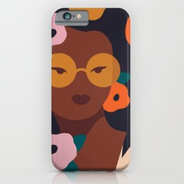 Fruit and Flowers iPhone Case