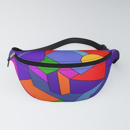 Colorful abstraction Fanny Pack