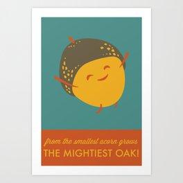 Mighty Oak Art Print
