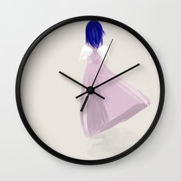 Blue Angel Wall Clock