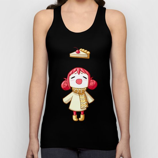 Cherry Pie Unisex Tank Top