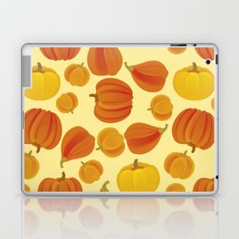 Pumpkins. Thanksgiving day. Laptop & iPad Skin