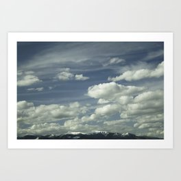 Montana Big Sky Art Print