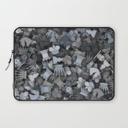 Chess camouflage Laptop Sleeve