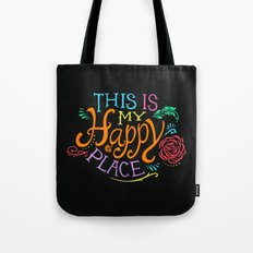 Happy Place Tote Bag