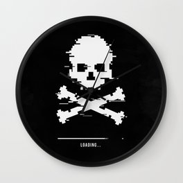 Game over loading glitch Wall Clock