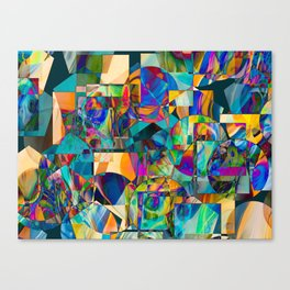 Quilted Memories Canvas Print