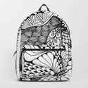 Zentangle Black and White Summer Sunflower by vermontgreetings