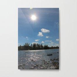 Riverside Metal Print