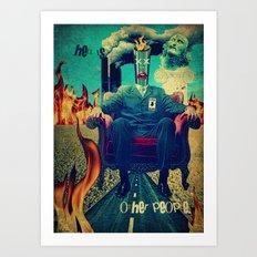 Hell Is... Art Print