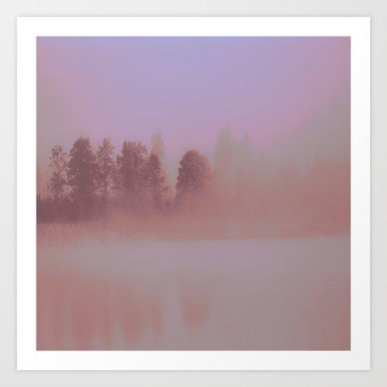 Over The Rainbow Forest Art Print