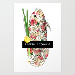 Easter is coming Art Print