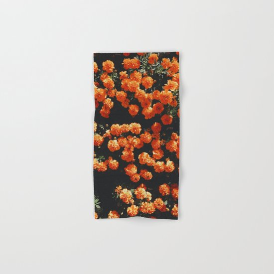 Orange Bloom Hand & Bath Towel