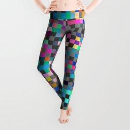 Patchwork Pixels Leggings