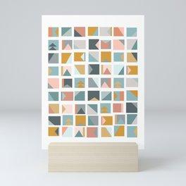 Mini Quilt Blocks Mini Art Print