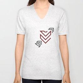 Arrow to your heart Unisex V-Neck