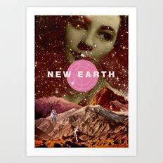 New Earth Art Print
