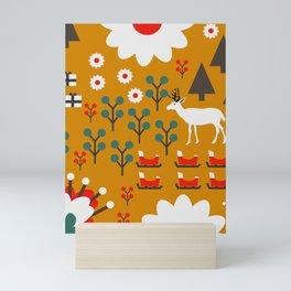 Winter woodland Mini Art Print