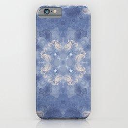 Mariana Blue Mandala iPhone Case