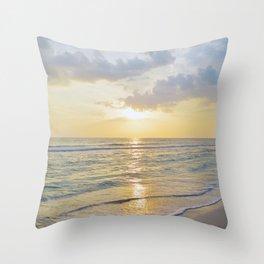 Summer Daze - Florida Sunset Throw Pillow