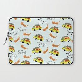Travel is joy - Pattern Laptop Sleeve