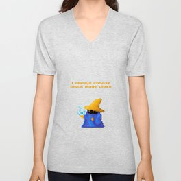 Black Mage Unisex V-Neck