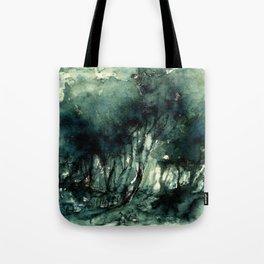 mürekkeple orman Tote Bag