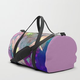 Painting Dragonflies and Orchids A Duffle Bag