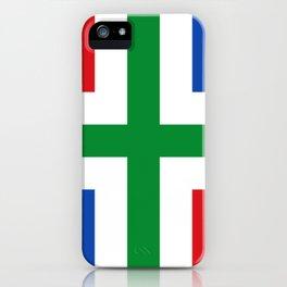 Flag of Groningen (province) iPhone Case