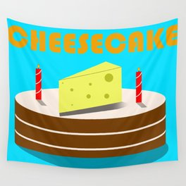 Cheesecake Wall Tapestry