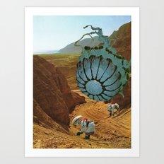 Terraformed Mars, 2575 A. D. Art Print