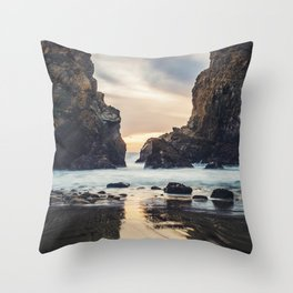 When Ocean Dreams Throw Pillow