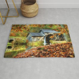 Autumn 2015 at Mabry Mill Rug