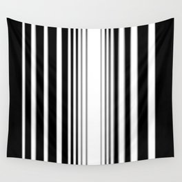 Striation Abstract C - Vertical Wall Tapestry