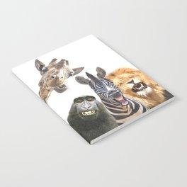 Jungle Animal Friends Notebook