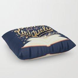Books are magic Floor Pillow