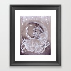 Little Serenity Framed Art Print
