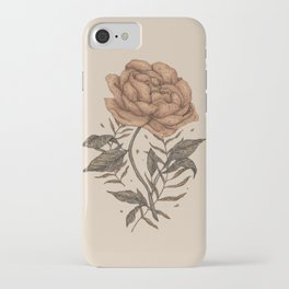 Peony and Ferns iPhone Case